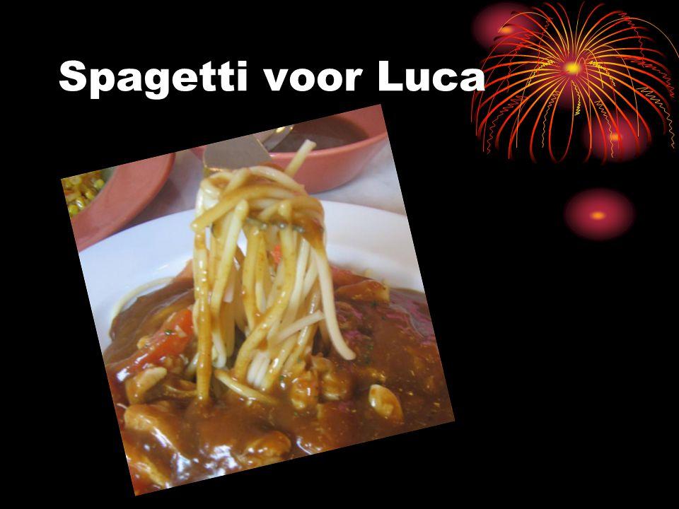 Spagetti voor Luca