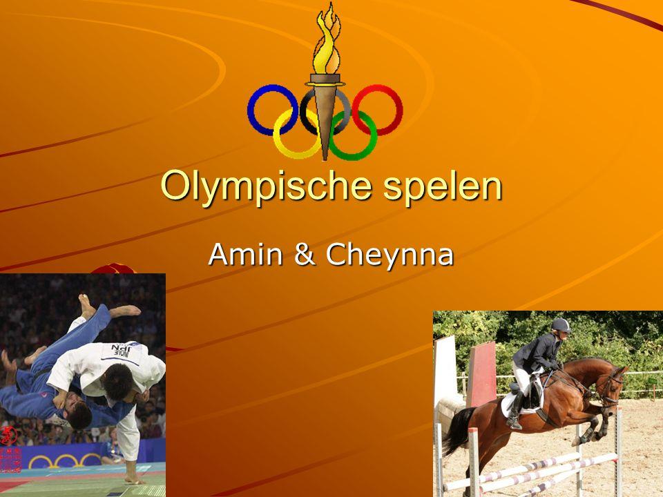 Olympische spelen Amin & Cheynna