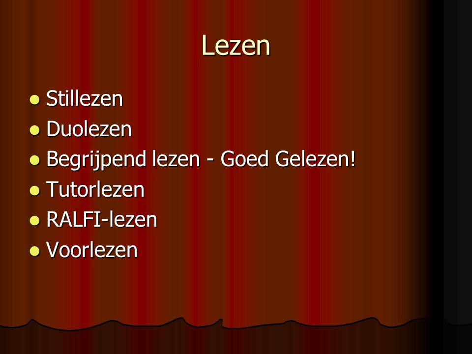 Lezen Stillezen Stillezen Duolezen Duolezen Begrijpend lezen - Goed Gelezen.