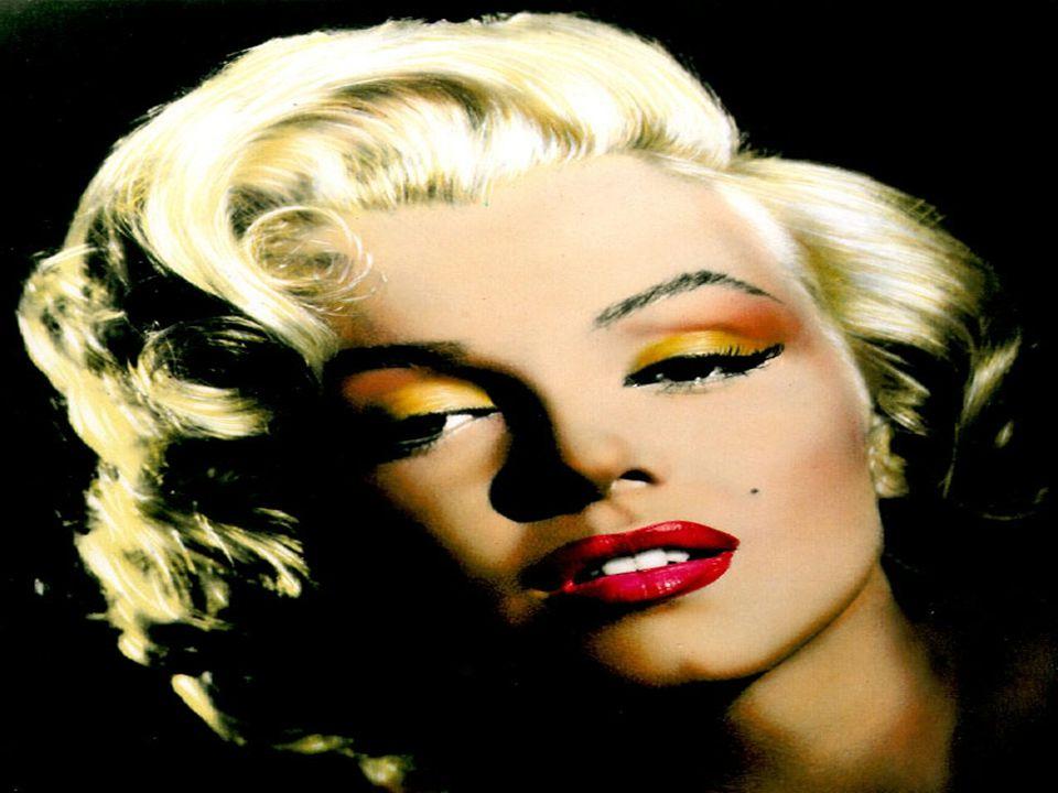 Marilyn Monroe Een van de beroemdste filmsterren van vroeger is Marilyn Monroe.