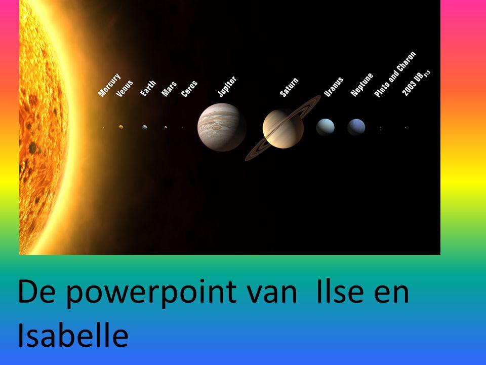 De powerpoint van Ilse en Isabelle