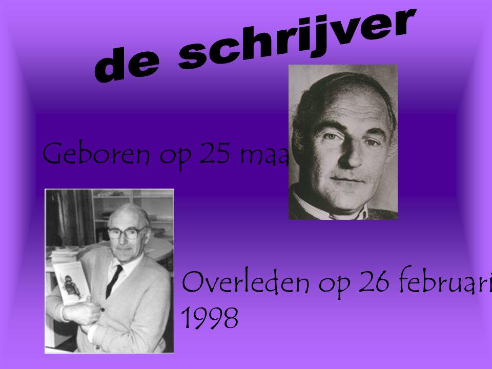 Geboren op 25 maart 1922. Overleden op 26 februari 1998