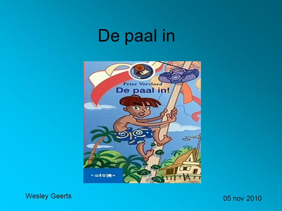 De paal in Wesley Geerts 05 nov 2010
