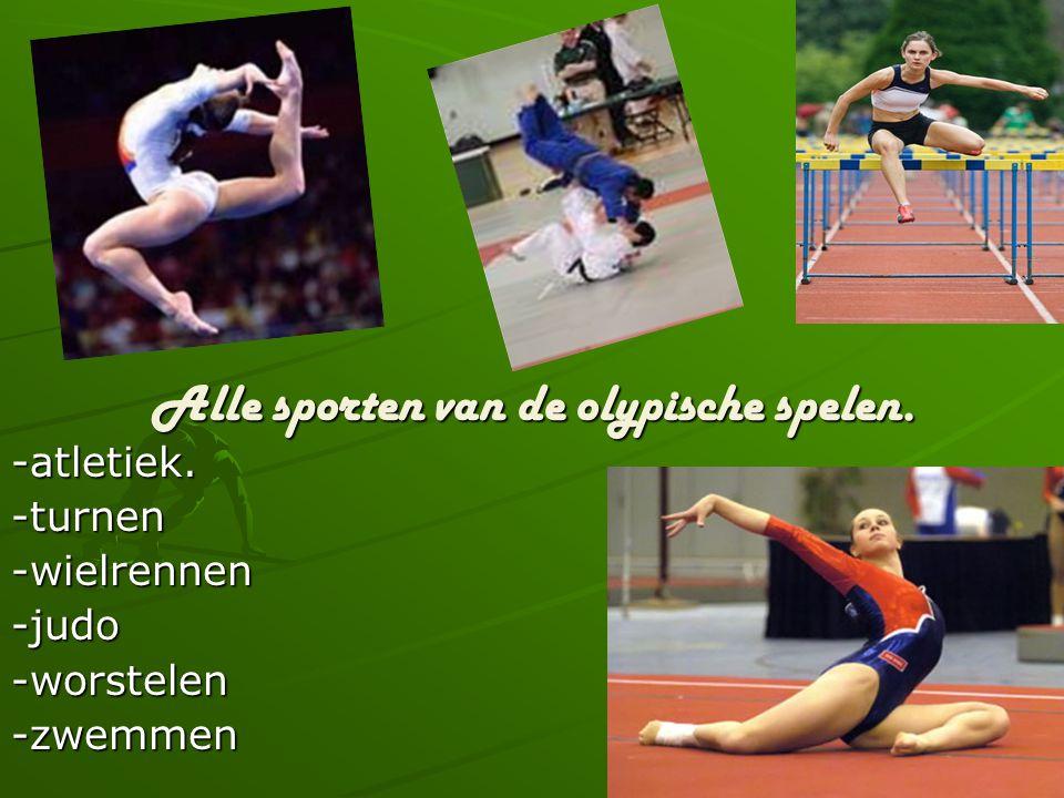 De oude olypische spelen baan.