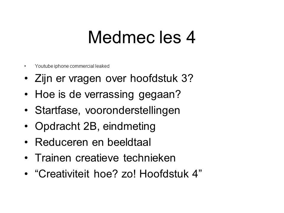 Medmec les 4 Youtube iphone commercial leaked Zijn er vragen over hoofdstuk 3.