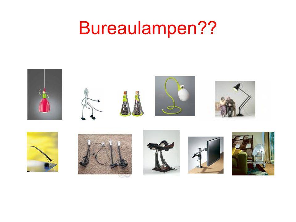 Bureaulampen??