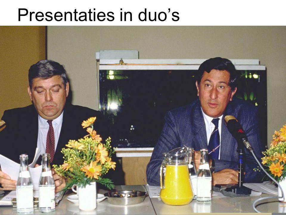 Presentaties in duo's