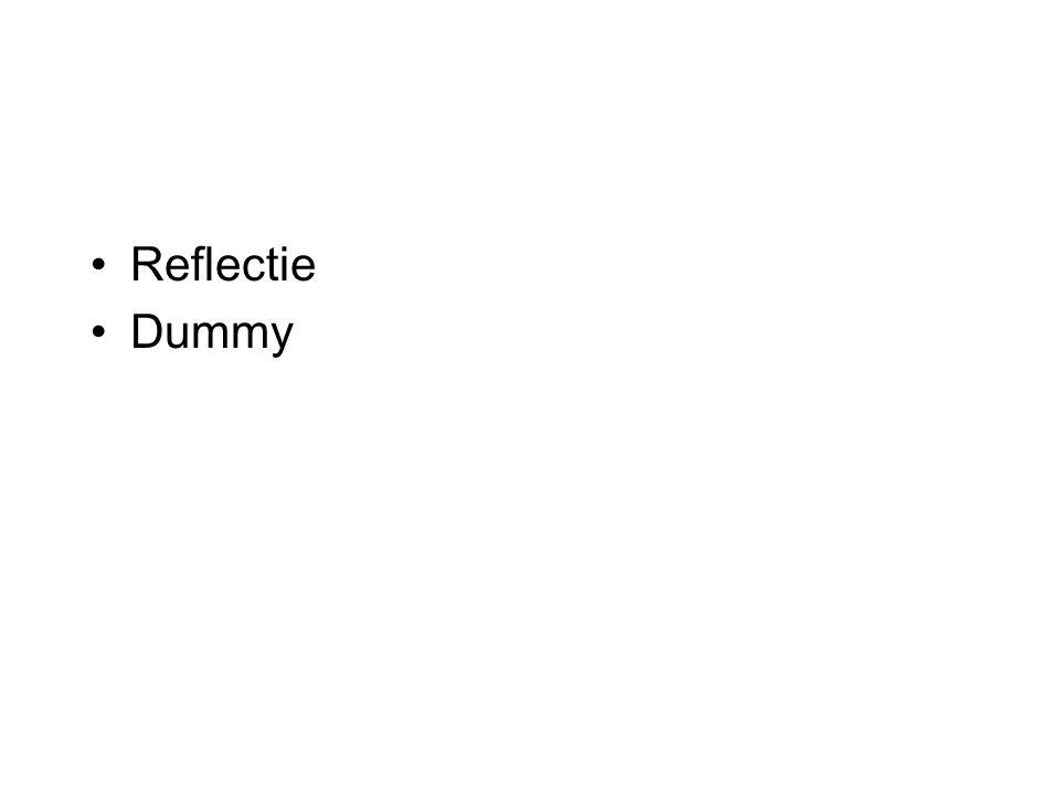 Reflectie Dummy