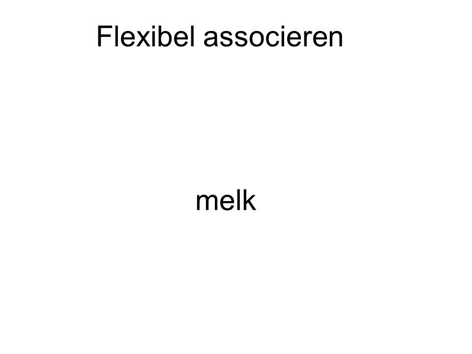 Flexibel associeren melk