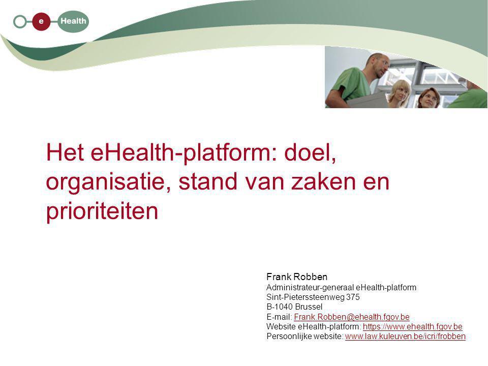 2 15/1/2009 Structuur van de uiteenzetting 1.enkele evoluties in de gezondheidszorg 2.wat is eHealth .
