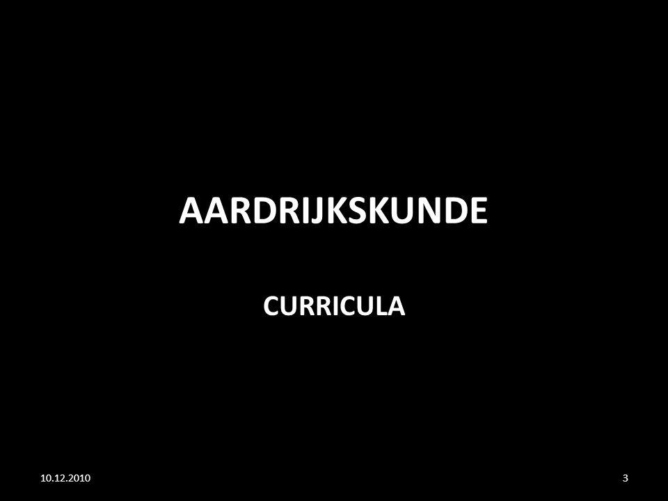 AARDRIJKSKUNDE CURRICULA 10.12.20103