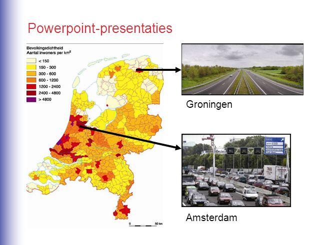 Amsterdam Groningen Powerpoint-presentaties