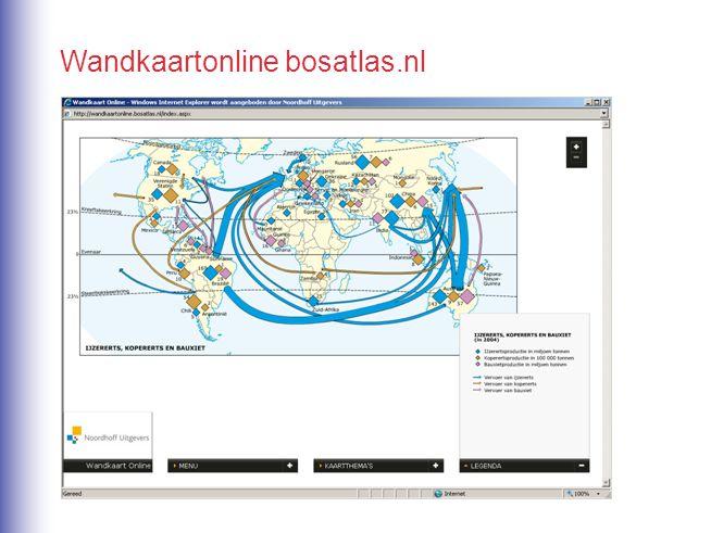 Wandkaartonline bosatlas.nl