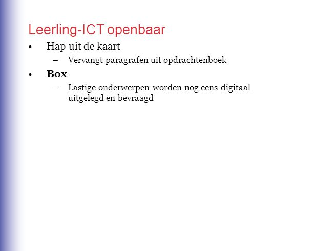 Box, hoofdstuk 2, 4V