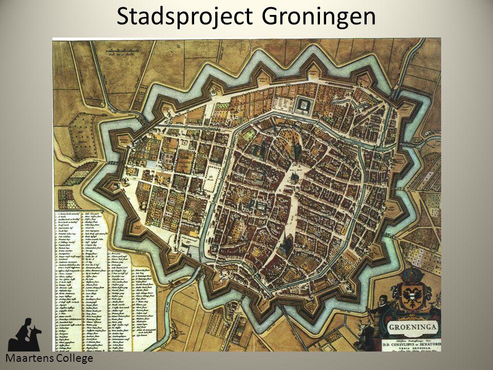 Stadsproject Groningen Maartens College