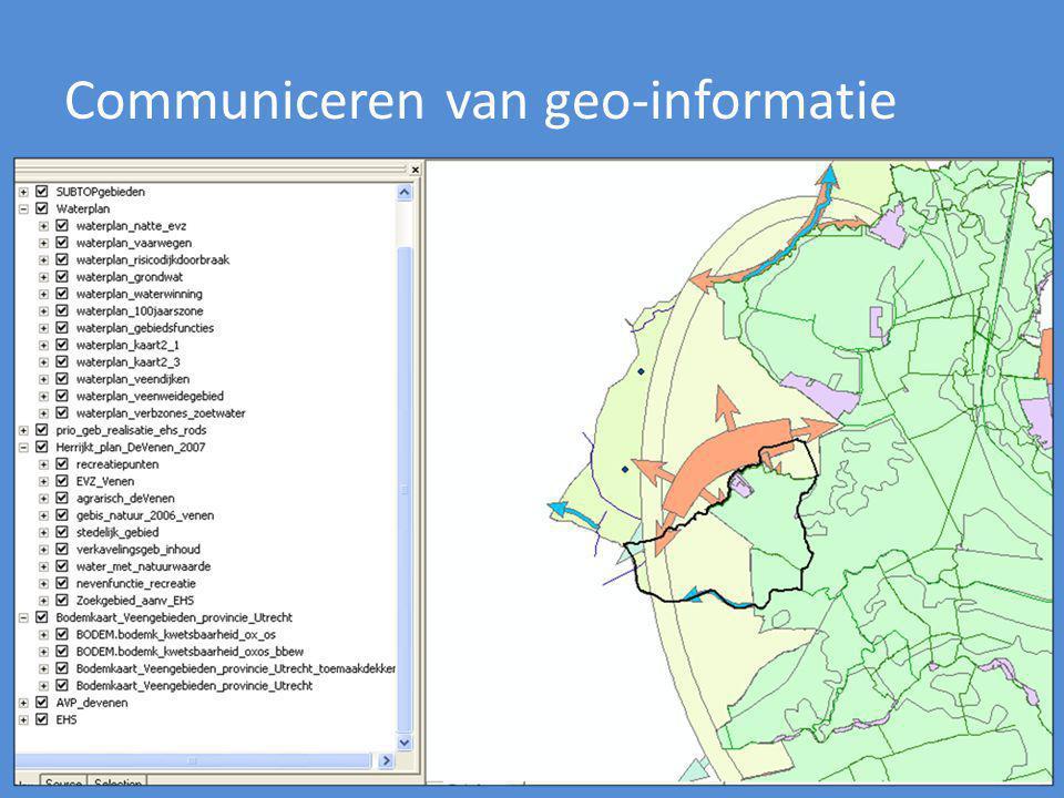 Communiceren van geo-informatie