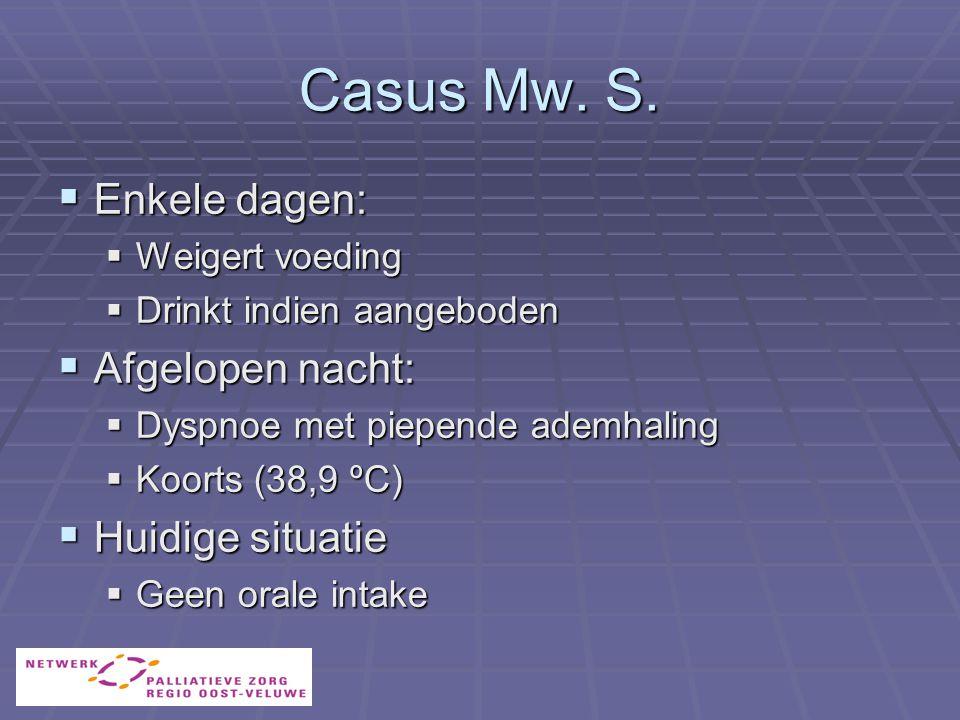 Casus Mw.S.