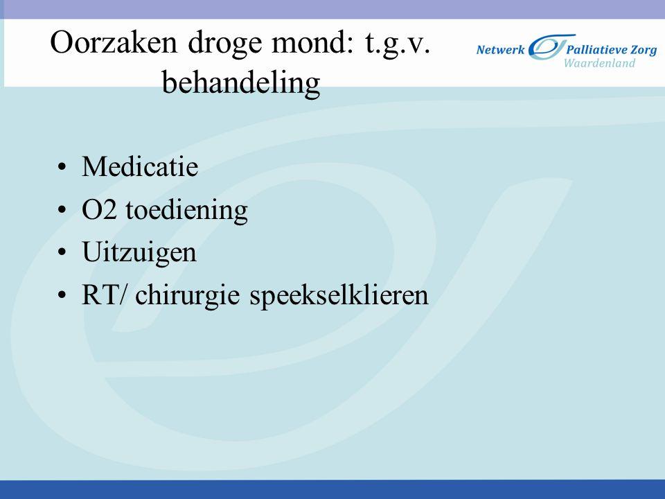 3) Infecties van de mond Schimmels ( candida albicans) Virussen ( herpes simplex type 1) Bacteriën ( streptokok/stafylokok)