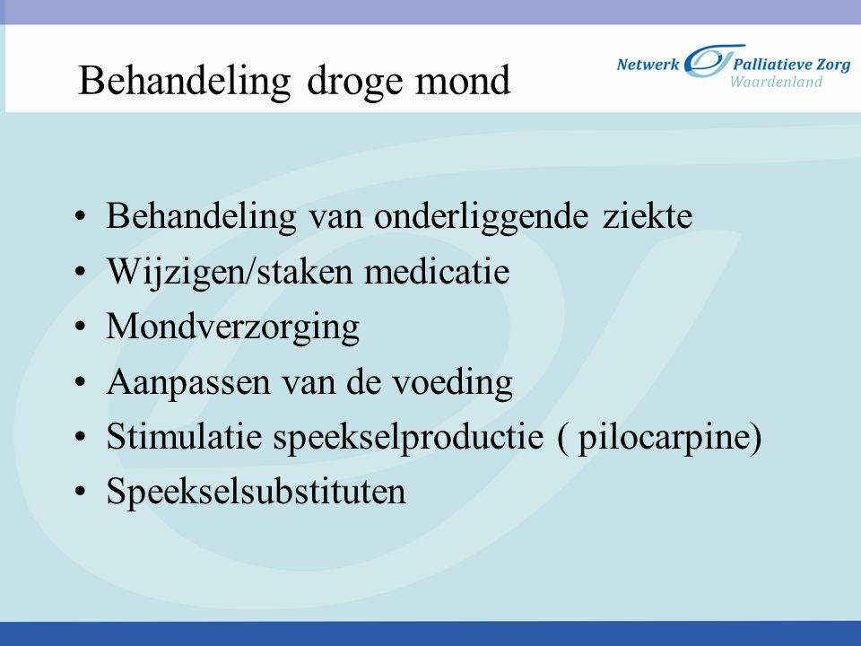 2) Stomatitis Alle orale en periorale ontstekingsprocessen Orale mucositis= stomatitis t.g.v.