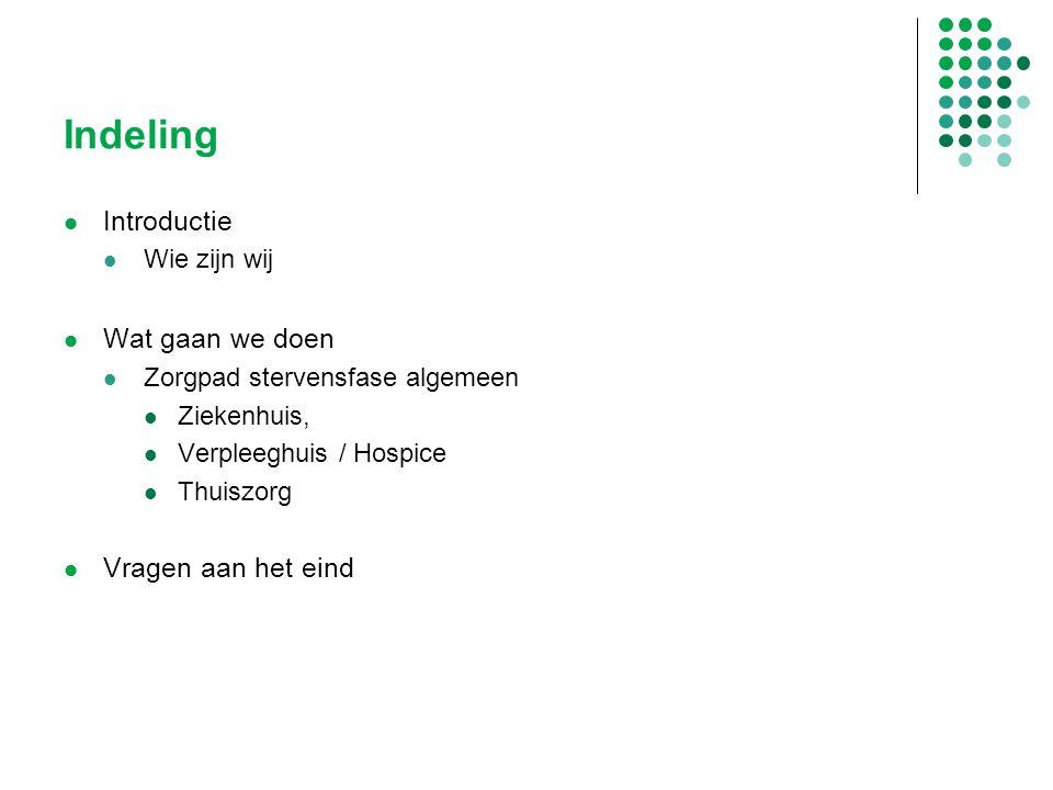 Zorgpad Stervensfase weer iets nieuws Checklist Hoogleraren: checklistdrift in de zorg slaat toe Nursing 3418 3 Er is sprake van een doorgeslagen checklist drift in de zorg Hoogleraar verplegingswetenschap, Marieke Schuurman Hoogleraar Veiligheid in de zorg, Jan Klein Nursing, juli-augustus 2013