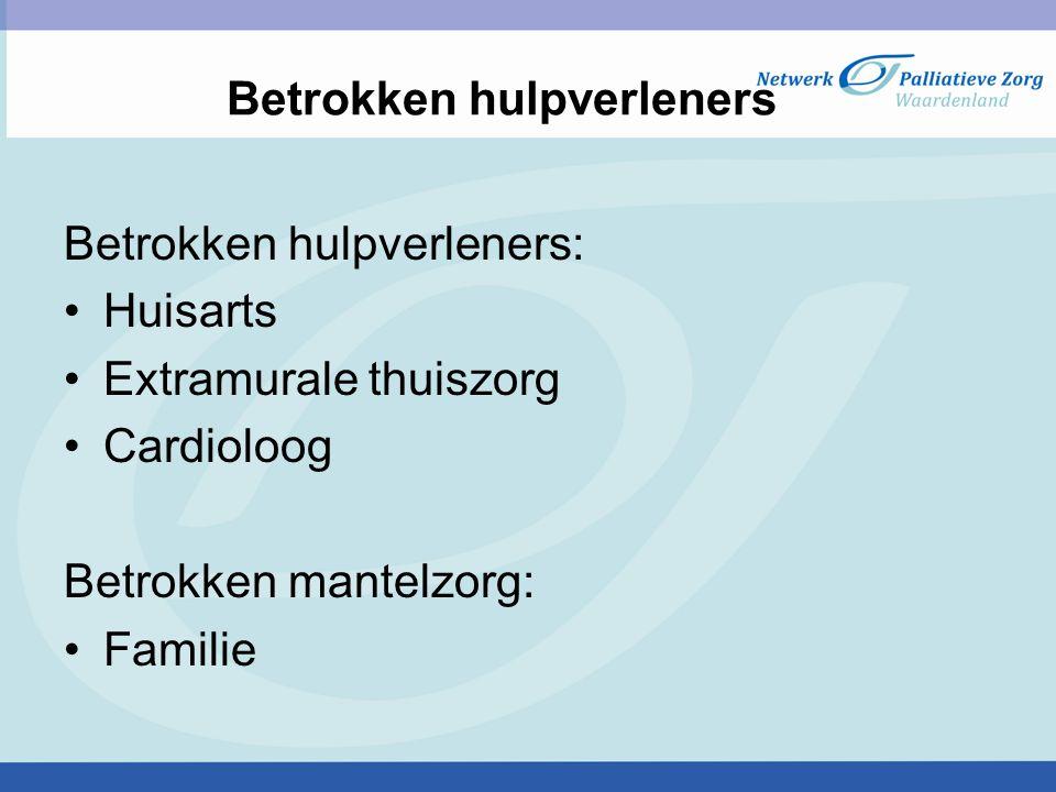 Casemanagement Beloop traject Meerdere ziekenhuisopnames waarbij delier Begeleiding tijdens opname, ontslag en thuis door GOAC Met IBS vanwege uitval echtgenote opgenomen in verpleeghuis en daar al snel overleden Wat is meerwaarde van begeleiding GOAC.