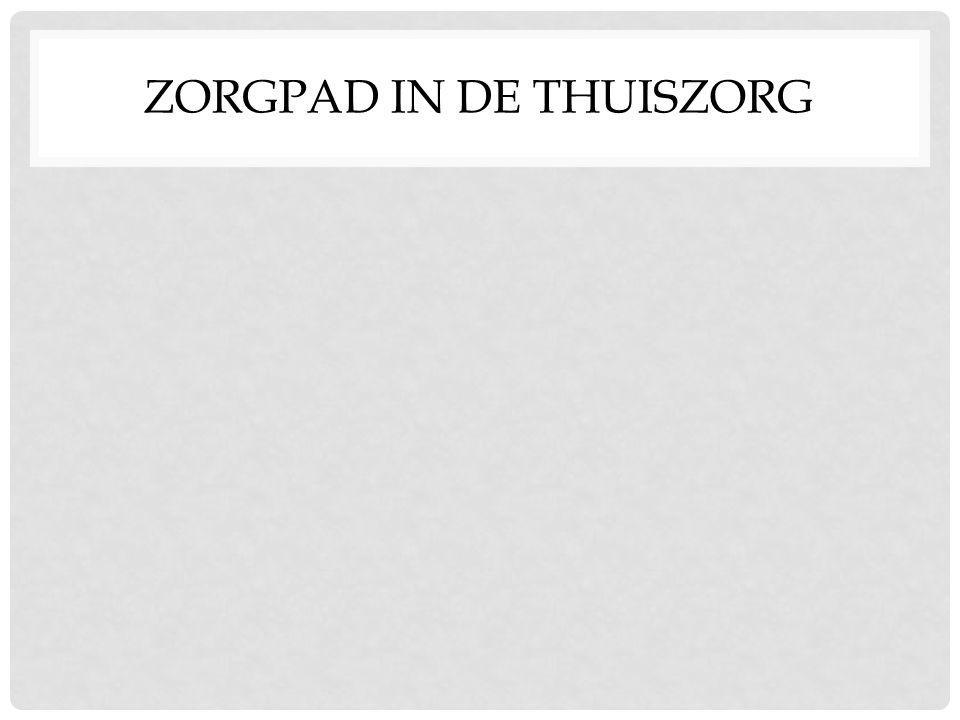 ZORGPAD IN DE THUISZORG