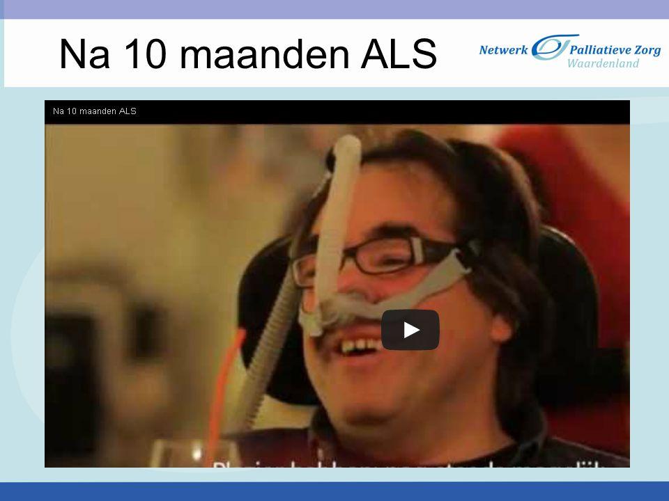 Na 10 maanden ALS