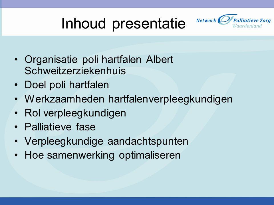 Behandelmogelijkheden thuis in de terminale fase Zuurstof Intraveneuze medicatie door specialistisch thuisteam Behandeling ter comfort dmv aanvullende medicatie (opiaten) Terminale thuiszorg
