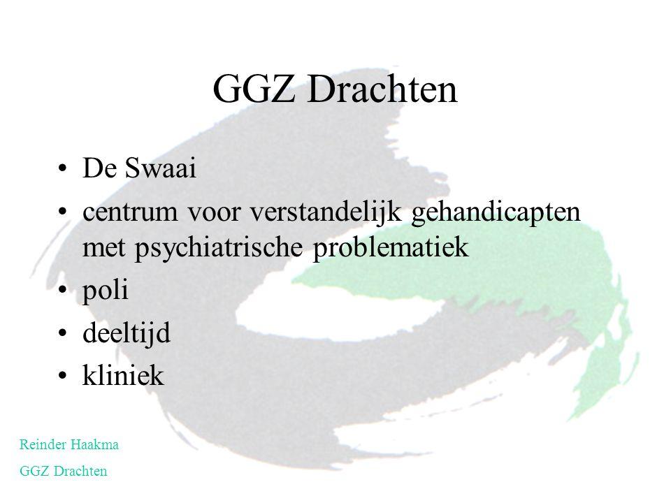 De Swaai centrum voor verstandelijk gehandicapten met psychiatrische problematiek poli deeltijd kliniek Reinder Haakma GGZ Drachten
