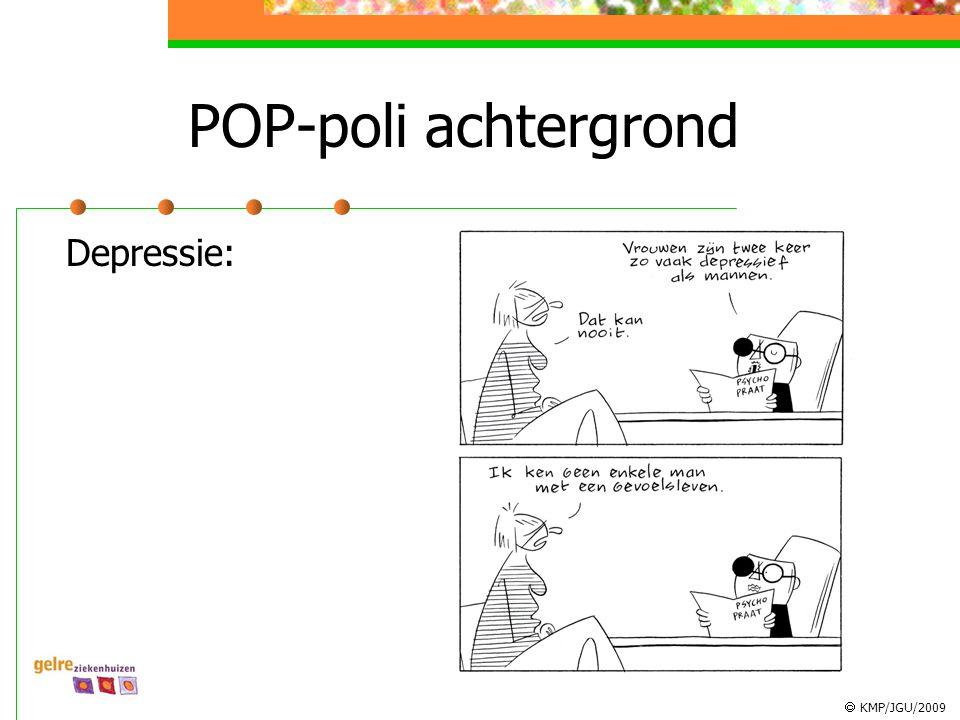 KMP/JGU/2009 POP-poli achtergrond Depressie: