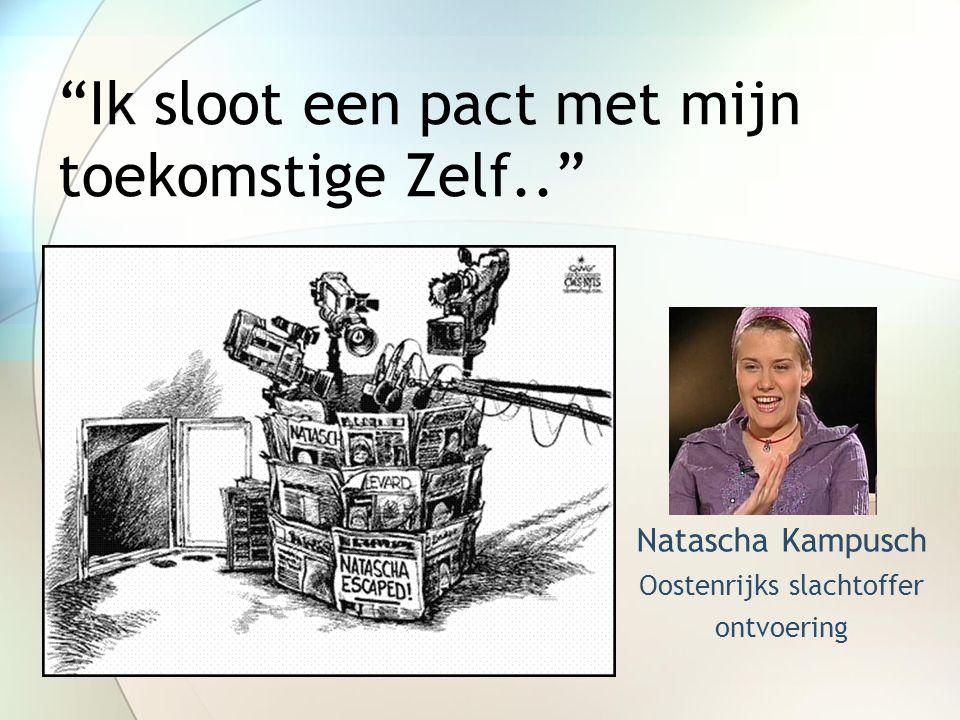 """""""Ik sloot een pact met mijn toekomstige Zelf.."""" Natascha Kampusch Oostenrijks slachtoffer ontvoering"""