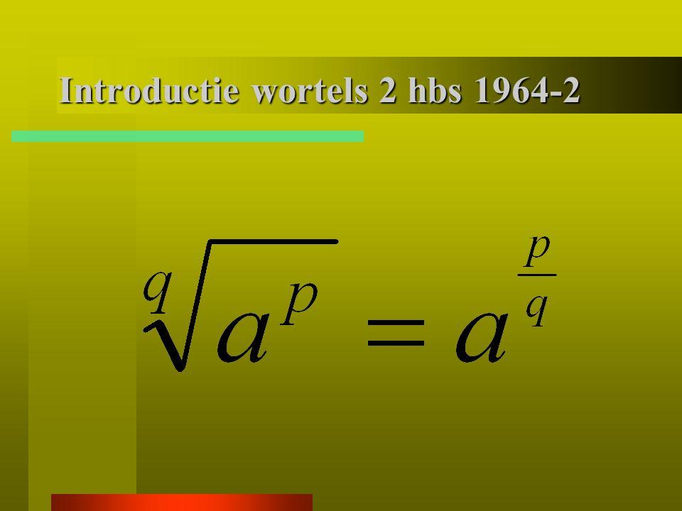 Klas 2 hbs 1964 -1 Herleid: