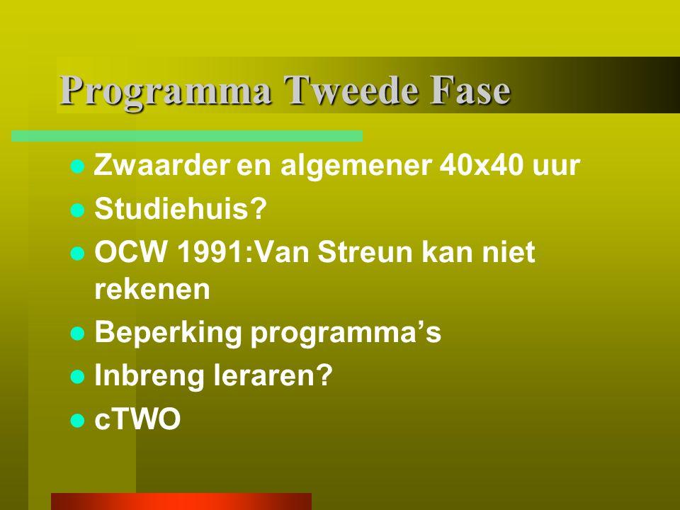 Onderbouw havo-vwo Voortzetting van de rekenlijn PO Samenwerking andere vakken b.v.