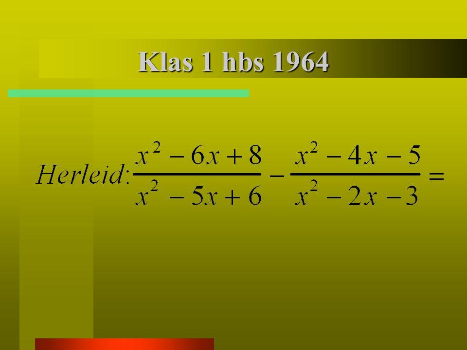 Leerlingenpopulatie 1964 hbs – gymna- sium mulonijver- heids- onder- wijs arbeids markt 15 %30 %35 %20 %