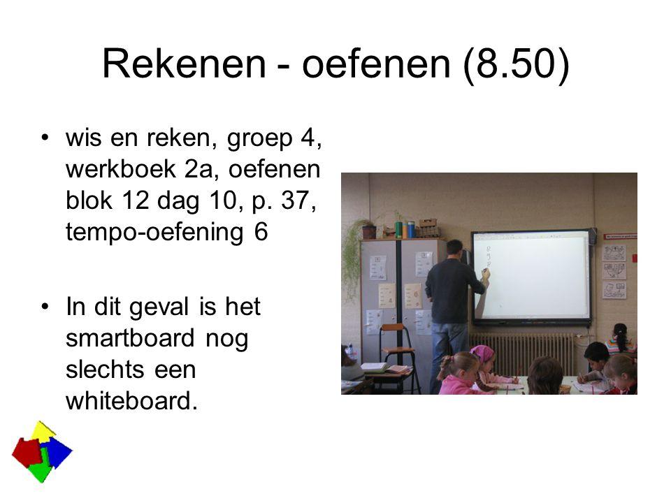 Rekenen – instructie Gijs heeft een klein uur gepland om een cyclus af te werken met klassikale instructie, leerlingen individueel aan RekenWeb en individueel werken aan het variaboek (diverse onderwerpen rekenen).
