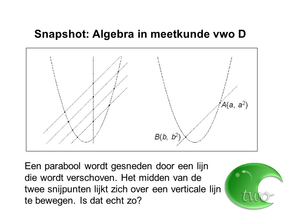 """Snapshot: Dynamische modellen vwo D Richtingsveld bij y ' = y Dus: """"alle oplossingen zijn veelvouden van de e-macht"""""""