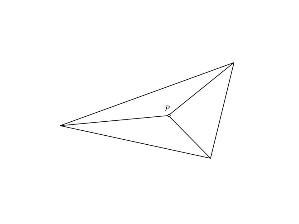 Vraag: Onder welke voorwaarde heeft een vierhoek een deelpunt.