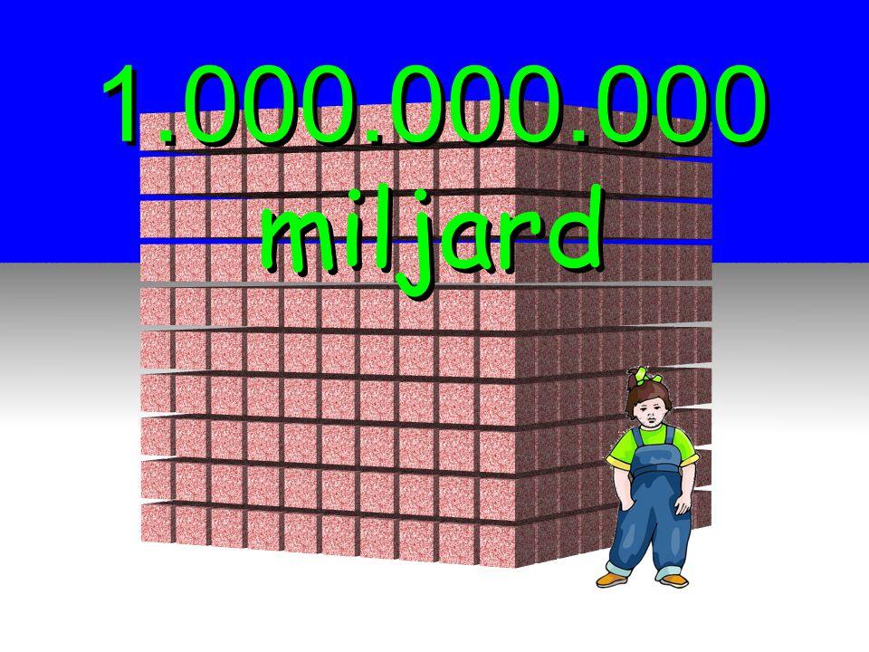 1.000.000.000 miljard