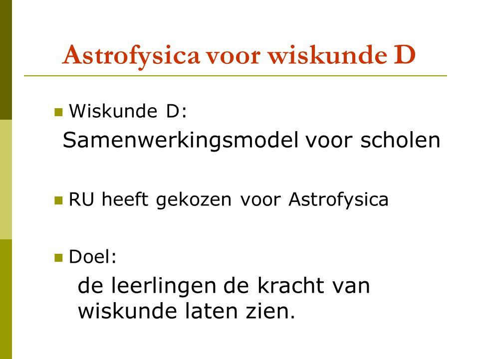 In hogere sferen: Aarde en Maan Maris van Haandel Leon van den Broek Radboud Universiteit Nijmegen Wiskunde-Ddag, 050609