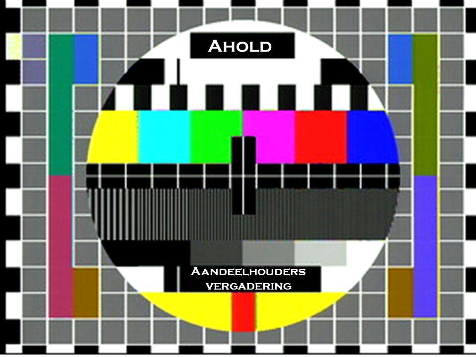 Aandeelhouders vergadering Ahold TV