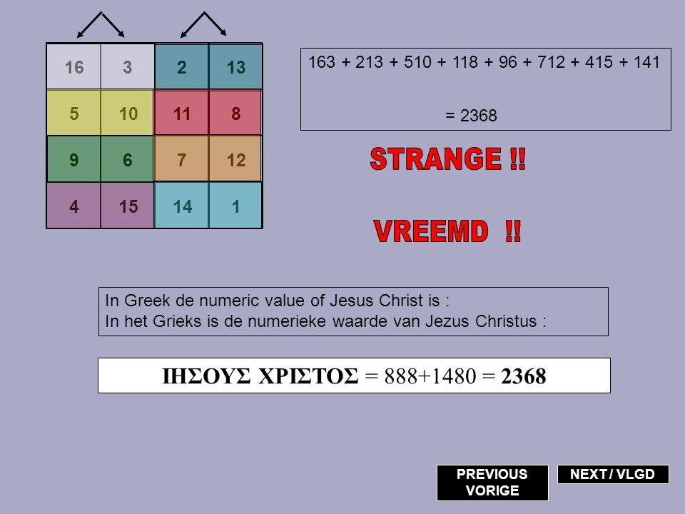 34 68 38 42 Albrecht Dürer Jefken 62 J O Z E F Letter in the alphabet >> Letter in het alfabet >> 10+15+26+5+6 = 62 My name is / Mijn naam is >> NEXT / VLGD Jefken PREVIOUS VORIGE