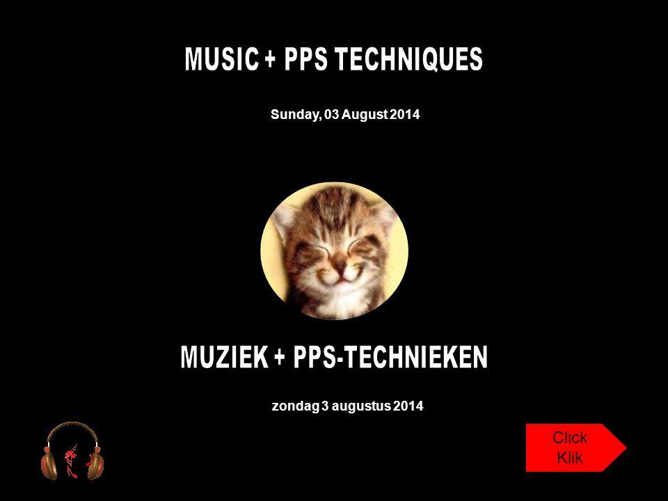 Sunday, 03 August 2014 zondag 3 augustus 2014 Click Klik