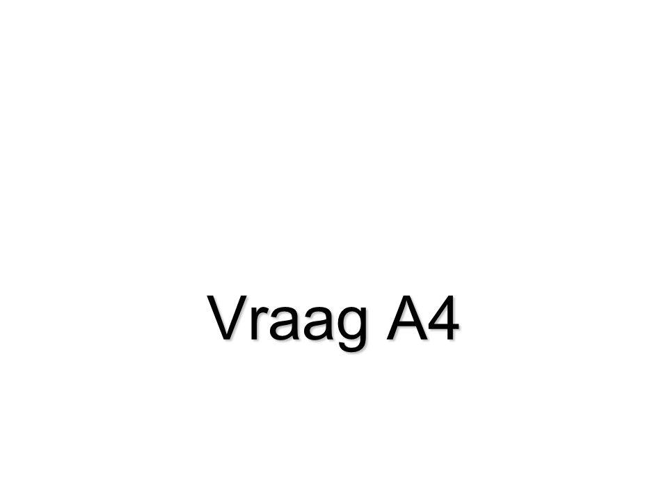 Vraag A4