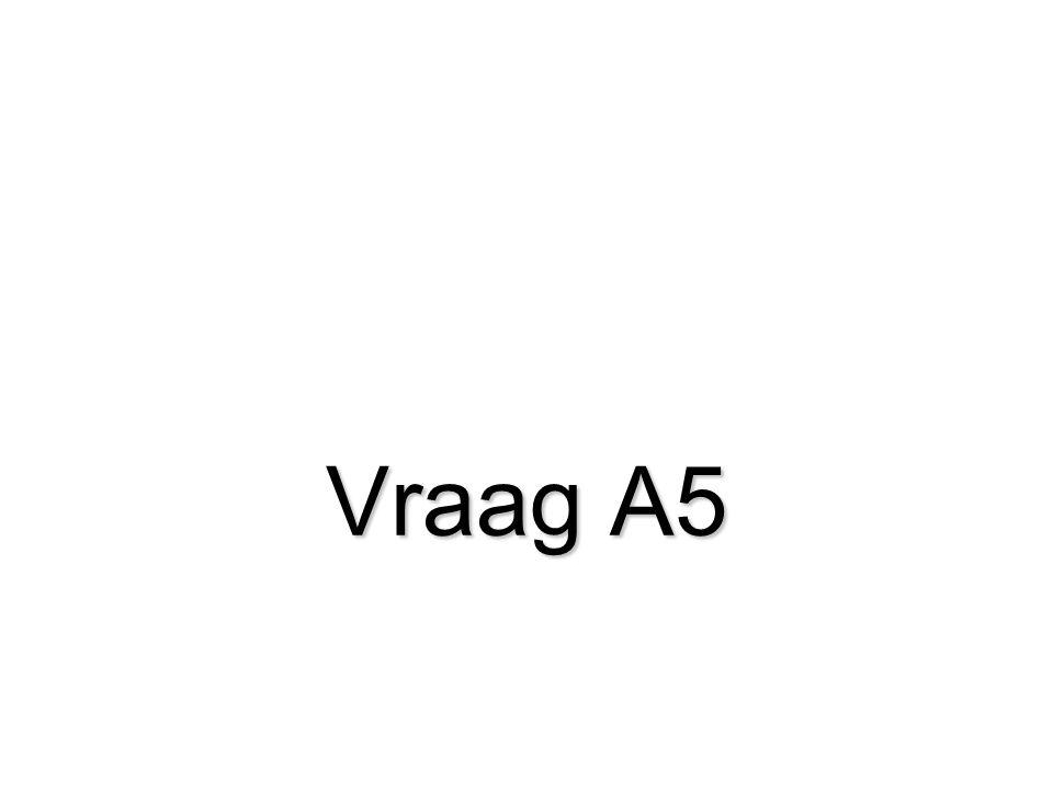 Vraag A5