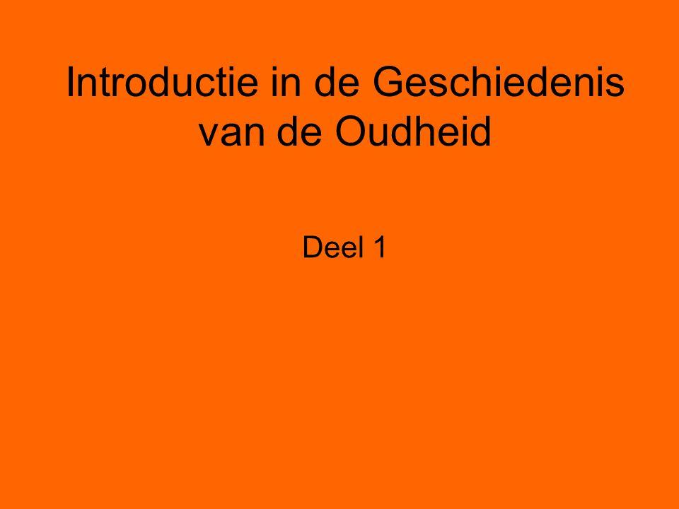 Introductie in de Geschiedenis van de Oudheid Deel 1