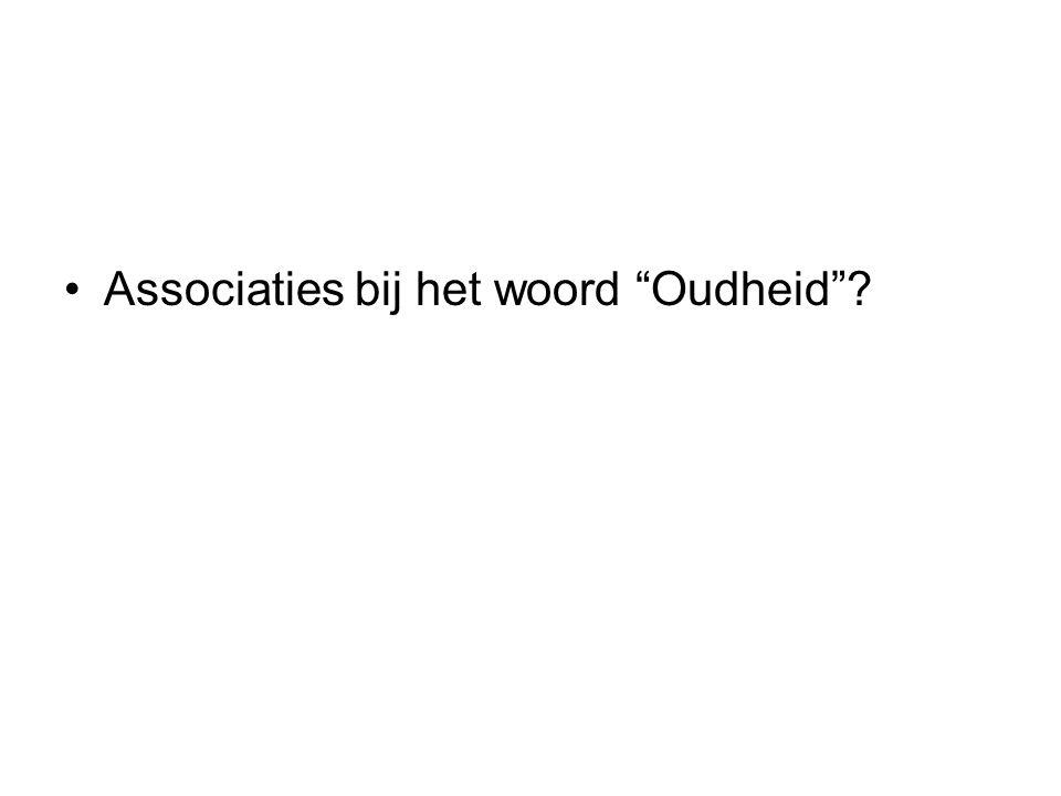 """Associaties bij het woord """"Oudheid""""?"""