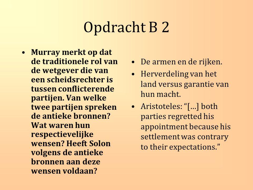Opdracht C 2: de belangrijkste conclusies van Hölkeskamp.