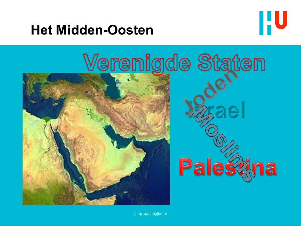 Het Midden-Oosten jaap.patist@hu.nl