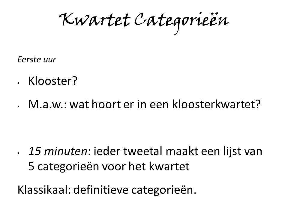 Bronnenvoorbeelden Wikipedia RKK www.Erfgoedkloosterleven.nl www.monasteria.org www.abdijvanegmond.nl Etc.