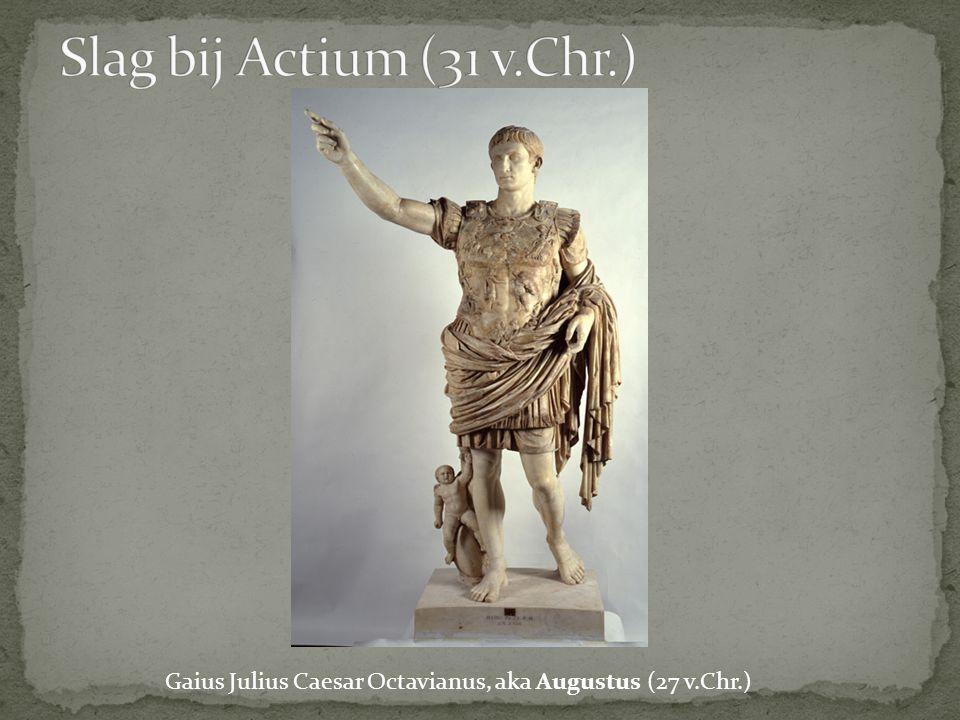 Gaius Julius Caesar Octavianus, aka Augustus (27 v.Chr.)